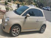 Fiat 500 71000 miles Fiat 500 Sport