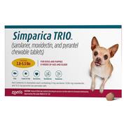 Buy Simparica TRIO For Dogs best Flea and tick Treatment