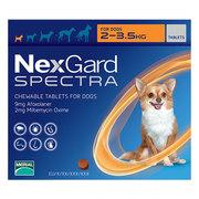 Buy Nexgard Spectra for Dogs | Nexgard chewables for dog