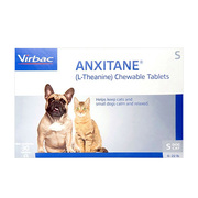 Virbac Anxitane Chewable Tablets for Dogs - Independences Day 10% Off