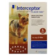 Interceptor Heartworm treatment for dogs