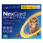 Nexgard Spectra For Dogs Broad spectrum treatment that cures fleas,  ti